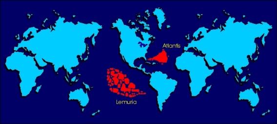 Očekuju se ... Lemurija  i Atlantida